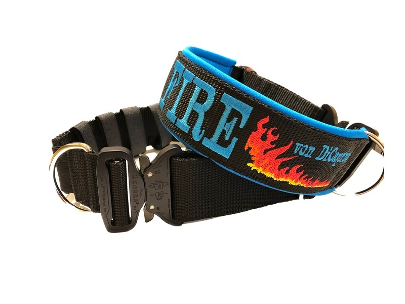 Halsband mit Cobraschnalle für kraftvolle Hunde konfigurieren