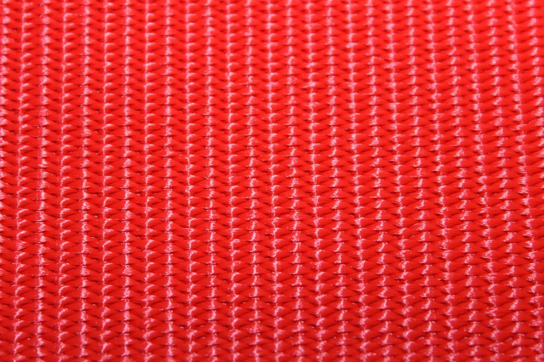 Gurtband einfarbig rot 25 mm  Breite aus Polypropylen
