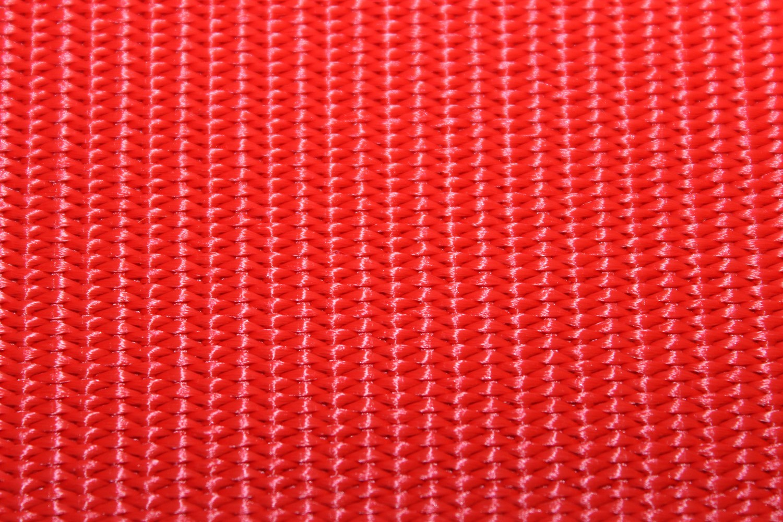 Gurtband einfarbig rot 40 mm  Breite aus Polypropylen