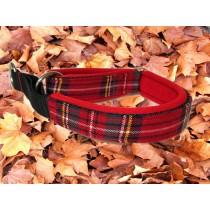 zugstop-halsband-25mm-karo-rot-neoprenpolsterung